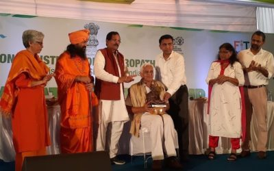 Dr. Narayan Hegde, has been felicitated by the Ministry of AYUSH, Government of India
